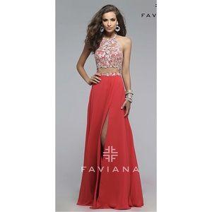 Beautiful Faviana Dress